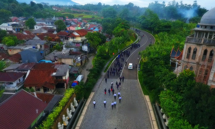 Bogor Sky - Short Time Aerial Photo & Video